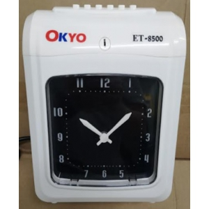 OKYO ET-8500 Time Recorder (Digital Display) FREE TIME CARD / CARD RACK PLUS INSTALLATION